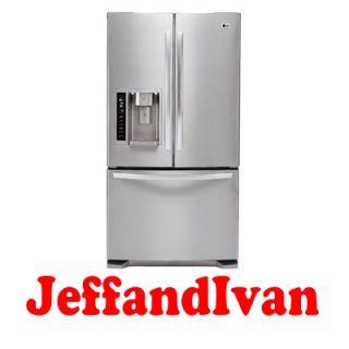 LG LFX25975ST 3 Door French Door Refrigerator with Ice and Water