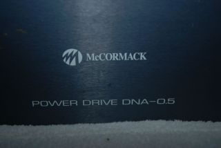 McCormack Stereo Amplifier Power Drive DNA 0 5