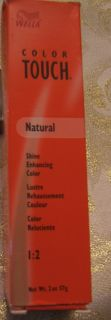 Wella Color Touch Natural Demi Permanent Hair Color 2 oz 57 G