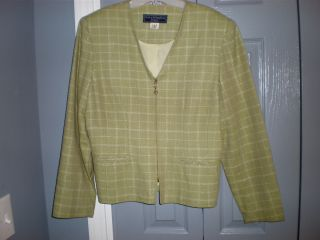 Norton McNaughton Suit Blazer Jacket Fully Lined Size 14P