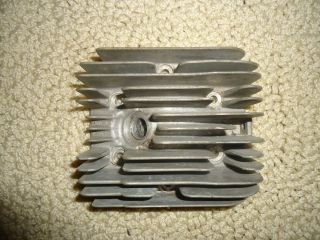 Vintage Go Kart Cylinder Head for McCulloch Engines