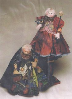 Magic Threads Secret Keepers 12 Cloth Doll Pattern by Julie McCullough