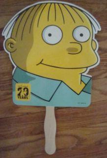 Simpsons TV Series Comic Promo Fan Matt Groening Ralph Wiggum
