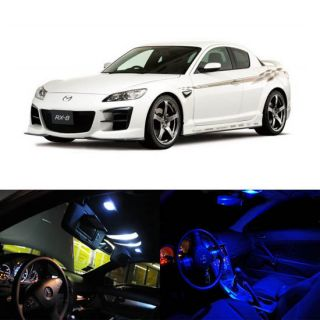 2004 2012 Mazda RX 8 RX8 5 x LED Full Interior Lights Package Deal