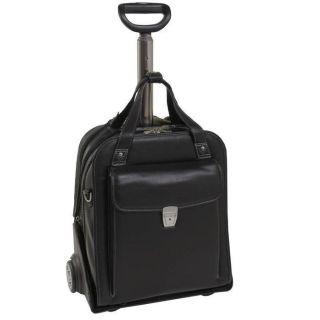 McKlein Siamod Pastenello Leather Vertical Detachable Wheeled Laptop