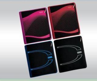 Mead 29040 5 Star 2 Xpanz Zipper Binder Asstd Colors Black Pink Blue