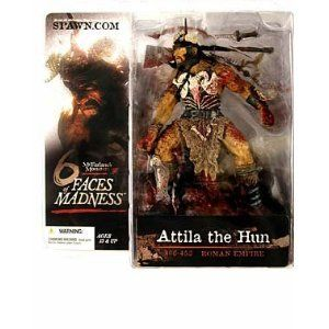 McFarlane Toys Monsters 6 Faces of Madness Attila the Hun Action