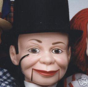 Charlie McCarthy Ventriloquist Dummy Doll Puppet New