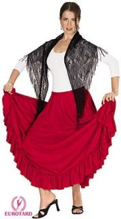 White Liturgical Praise Dance Flamenco Skirt as 968A