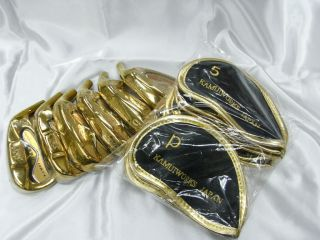 Kamui Works Japan Gold Ray Iron 8 Pcs Head Only Made in Japan