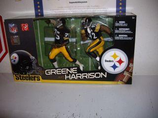 McFarlane NFL 2 Pack Steelers Mean Joe Greene and James Harrison