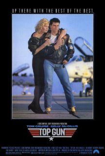 Top Gun 27 x 40 Movie Poster Tom Cruise McGillis B