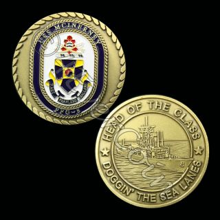 USS McInerney FFG 8 ★ Challenge Coin