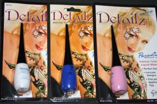 Detailz Makeup Mehron Face Body Paint Theatrical Color