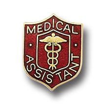 Medical Assistant Medical Insignia Emblem Pin 818 New
