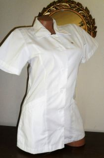 NW Landau Medical Scrubs Uniform Student V Neck Collar Tunic Style