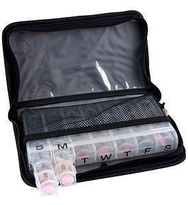 Travel Medications and Pill Organizer Case Travelon Travel Organizers