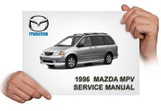 Mazda MPV 1996 Service Repair Manual CD 96