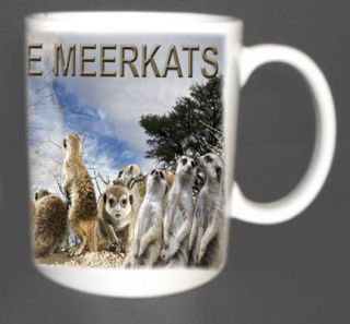 Love Meerkats Coffee Mug Gift Limited Edition Personalised with Any