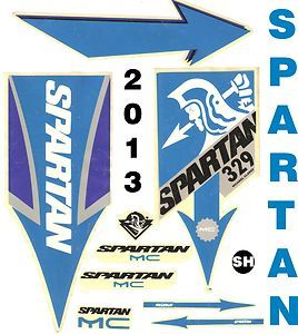 Clarkes unreleased 2013 Spartan MC 329 cricket bat stickers Best buy
