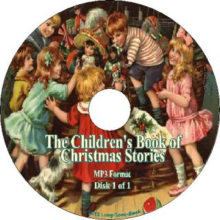 The Childrens Book of Christmas Stories Audiobook on 1 MP3 CD
