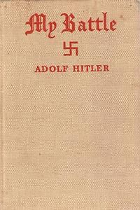 MEIN KAMPF BOOK BY ADOLF HITLER GERMAN RARE MILITARY WW2 GERMANY ARMY