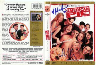 Mena Suvari J Cho Autographed American Pie DVD Cover