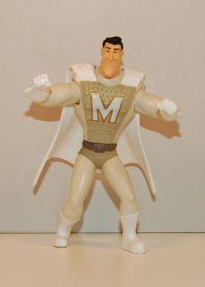 2010 Metro Man 4 McDonalds #3 Megamind Action Figure Movie Toy Brad