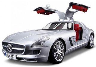 2010 Mercedes Benz SLS AMG Metallic Silver