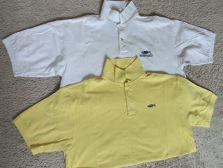 Menemsha Blues Marthas Vineyard Mens Polo Shirts Size XL $100 2 For1