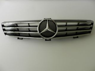 MERCEDES BENZ CLS Front Radiator Grille Grill Assembly BLACK NEW OEM