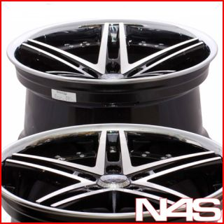 20 Mercedes Benz CLS550 CLS63 Rohana RC5 Black Concave Staggered
