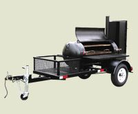TS120 Meadow Creek BBQ Smoker Trailer