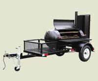TS120 Meadow Creek BBQ Smoker Trailer