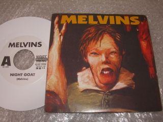 Melvins  Night Goat 7 White Vinyl Stoner Sludge Neurosis Grief