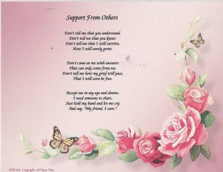 Memorial Poem Print Loved One Personalized Picture Pray