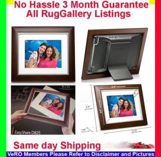 D825 8 Digital Photo Picture Frame Memory Card USB Memory Drive