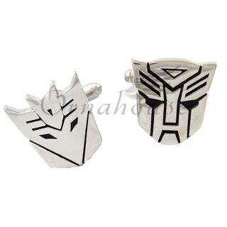 Decepticon Sign Cufflinks Mens Dress Shirt Cuff Links 3