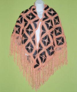Mexican Rebozo Shawl Scarf Huipil Belt Leather Crochet