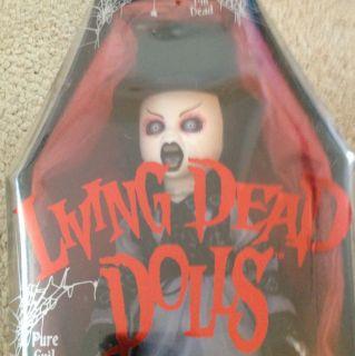 Mezco Toyz Living Dead Dolls Series 10 Tina Black Goth Doll Factory