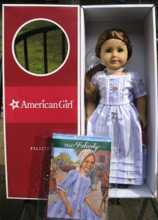 American Girl AG 18 Doll Felicity Merriman *Retired* Meet Outfit Book