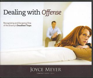 Dealing with Offense Joyce Meyer 4 CDs