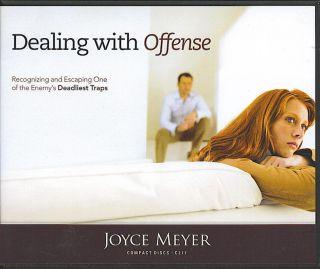 Dealing with Offense Joyce Meyer 4 CDs