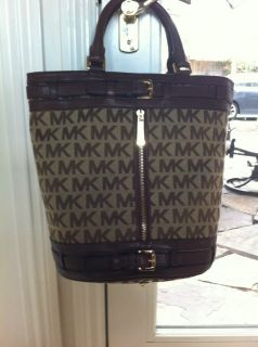 Michael Kors Brown Large Shoulder Bag