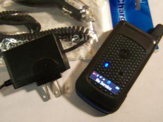 Rugged PTT Bluetooth iDEN Messaging GPS Flip Nextel Cell Phone