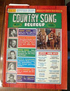 COUNTRY SONG ROUNDUP OCTOBER, 1967 DOLLY PARTON MERLE HAGGARD NANCY