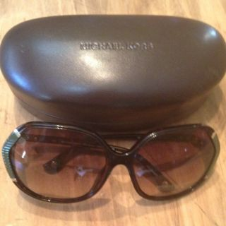Michael Kors Sunglass Eye Glass New With Case Dark Tortouise With