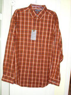 Roundtree Yorke LS Mens Button Shirt Portuguese Flannel Sz XL