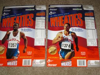1996 Olympic Gold Medals Running Dan OBrien Michael Johnson