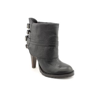 Mia Limited Edition Benita Womens Size 9 Black Leather Fashion   Ankle